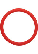 Rubber Cock Ring 2 Inch Red